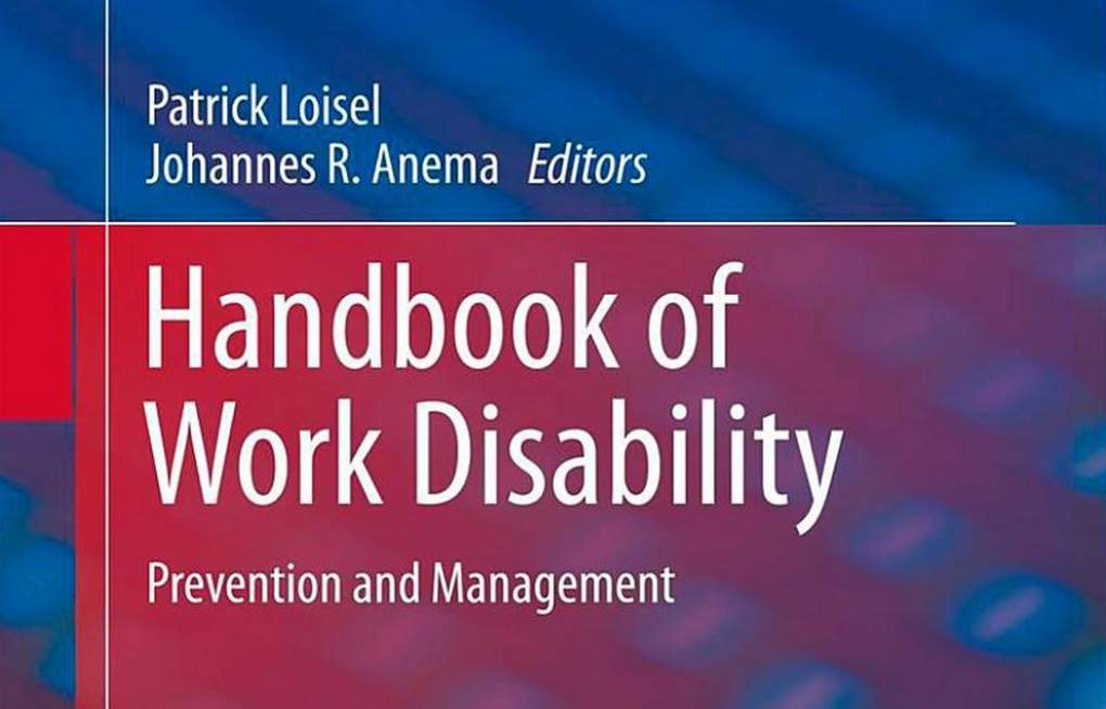 Forside Handbook of Workd Disability