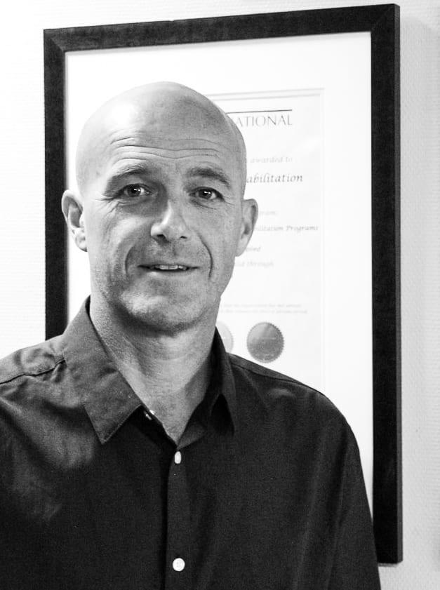 Bildet viser Alf Magne Foss, direktør ved Skogli helse og rehabilitering