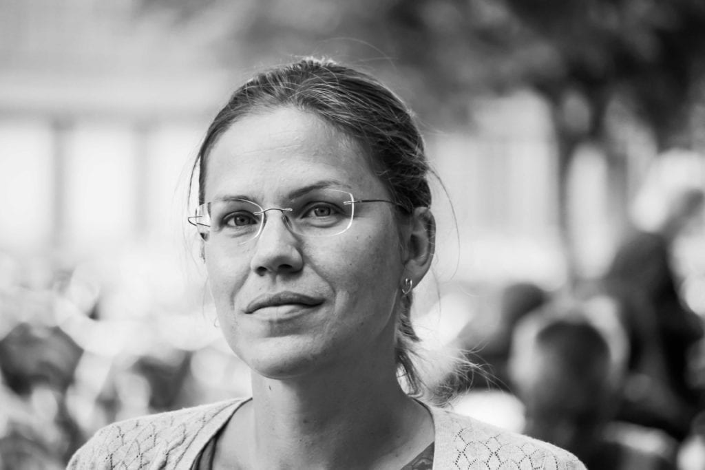 Bildet viser Charlotte Lundgren, kommunikasjonsforsker og foredragsholder på Møteplassen 2019