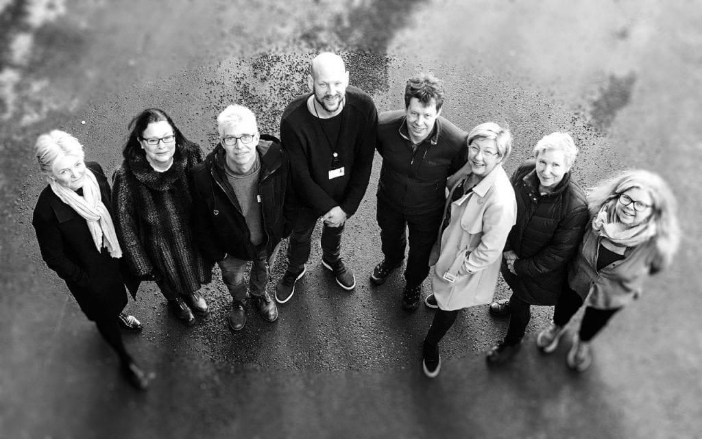 Ressursgruppa som står bak Åpen arena 2020