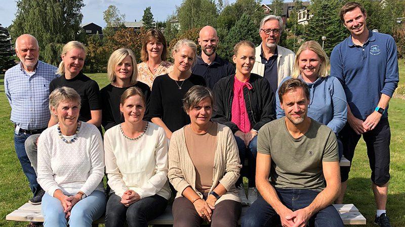 Ansatte på helse- og arbeidspoliklinikken på Sykehuset i Vestfold